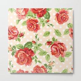 Flowers seamless patterns 24 Metal Print