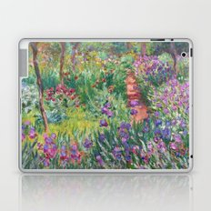 The Iris Garden at Giverny by Claude Monet Laptop & iPad Skin