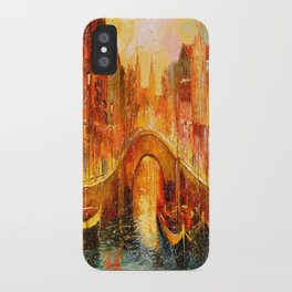 In the evening in Amsterdam iPhone Case