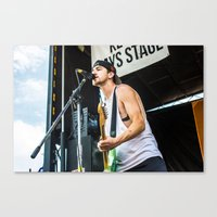 league Canvas Prints featuring Major League by Ashton Garner
