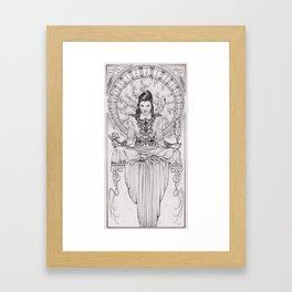 Art Nouveau Evil Queen II Framed Art Print