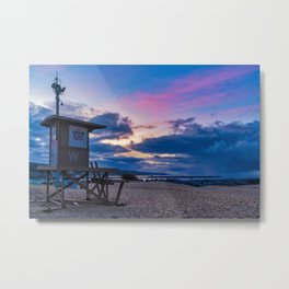 Wedge Tower at Sunrise Metal Print