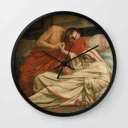 Jean-Paul Laurens - The Death of Tiberius Wall Clock