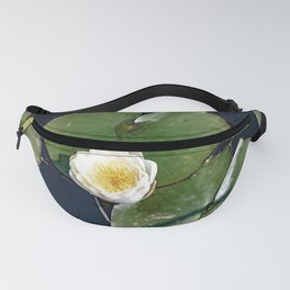 Water Lilies Flower And Lilypads Fanny Pack