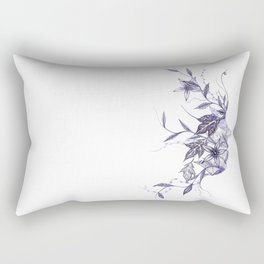 Face of Nature Rectangular Pillow