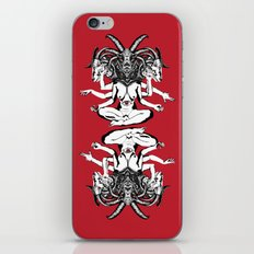 Woman is a Devil iPhone & iPod Skin
