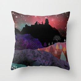 Manaia Nights Throw Pillow