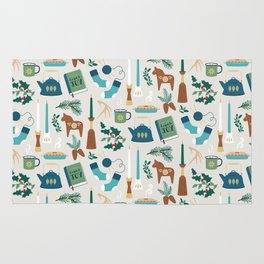 A Very Hygge Holiday Rug
