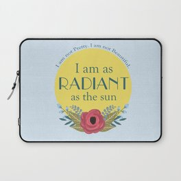 As the Sun Laptop Sleeve