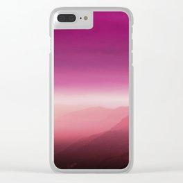Lesbian Pride Clear iPhone Case