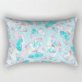 BUTTERFLIES BLUE Rectangular Pillow