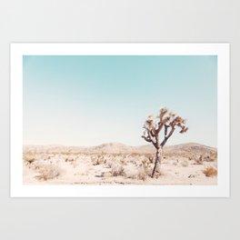 Desert, Lonely Tree Art Print
