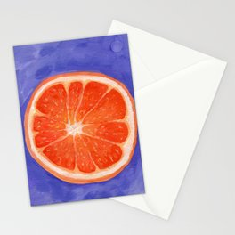 Orange Slice Study Stationery Cards