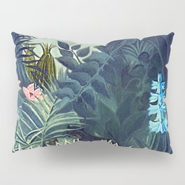The Equatorial Jungle with Lions by Henry Rousseau Pillow Sham