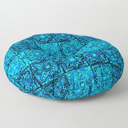 TALAVERA MEXICAN TILE PATTERN Floor Pillow
