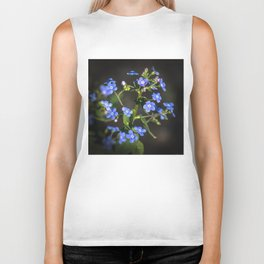 Forget-me-not Biker Tank