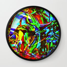 Fluid Painting 2 Wall Clock
