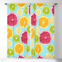 Citrus Obsession Blackout Curtain