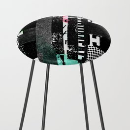 colored photocopy Counter Stool