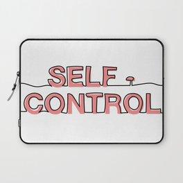 Self - Control Laptop Sleeve