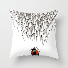 Stop Wasting Arrows And Aim For Its Head, You Damn Fools! V2 Throw Pillow