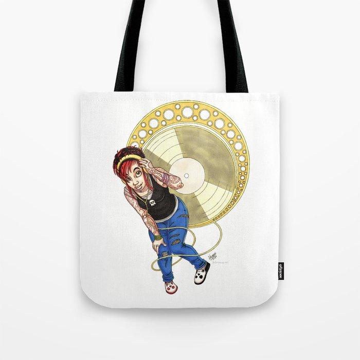 Mucha Music Fan Tote Bag