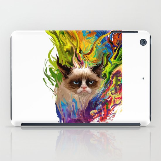 grumpys rich inner world iPad Case