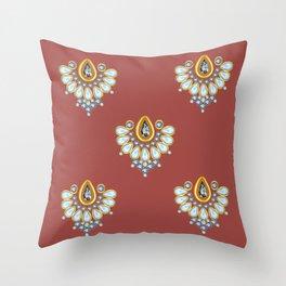 Hindi Pattern Throw Pillow