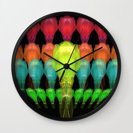 Alien Platoon Wall Clock