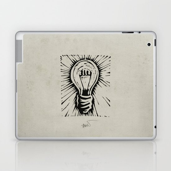 The Light Laptop & iPad Skin
