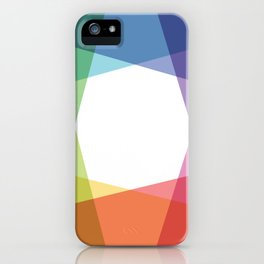 Fig. 001 Rainbow color iPhone Case