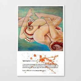 Siphonophore Canvas Print