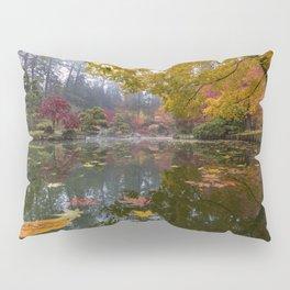 Japanese Garden Kiri Pond POV Pillow Sham
