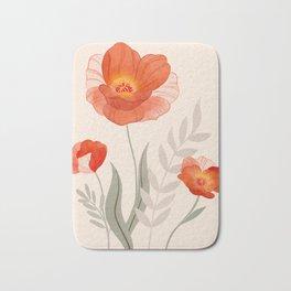 Summer Flowers II Bath Mat