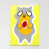 racoon Stationery Cards featuring Racoon by Jessica Slater Design & Illustration