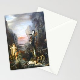 The Lernaean Hydra by Gustave Moreau (1876) Stationery Cards