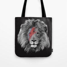 David Bowie Lion Tote Bag