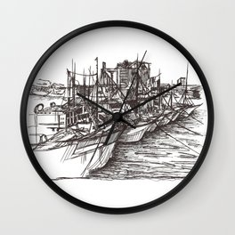 Piasau Boat Club Wall Clock