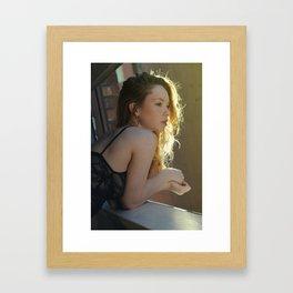 Hattie's Window Framed Art Print
