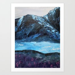 Wild Mountain Flowers Art Print