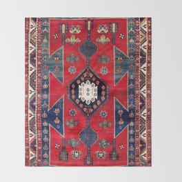Kazak Southwest Caucasus Rug Throw Blanket