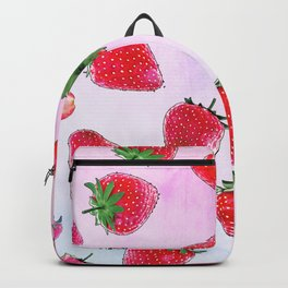 Strawberry fields forever Backpack