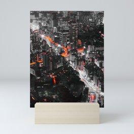 Tokyo City III Mini Art Print