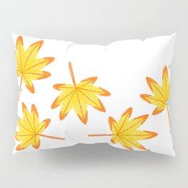 Japanese Maple Leaves Pillow Sham