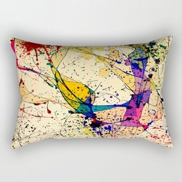 Paints Rectangular Pillow