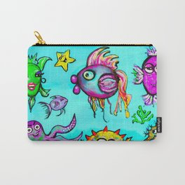 Sea Life Sampler Carry-All Pouch