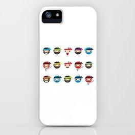 Ninja Toddlers iPhone Case