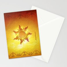 ...and at last i see the light! Stationery Cards