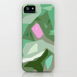 Abstract Camouflage iPhone Case