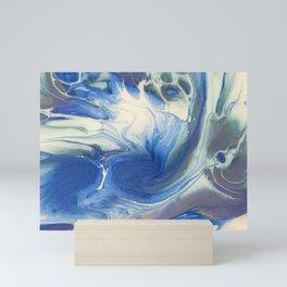 Ocean Tidal Flow Mini Art Print